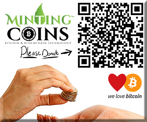 Donate Bitcoin to MintingCoins.com